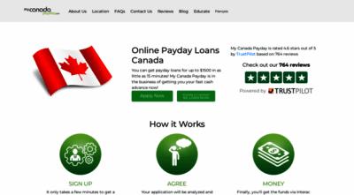 mycanadapayday.com - My Canada Payday Loans - Onlin... - My Canada Payday