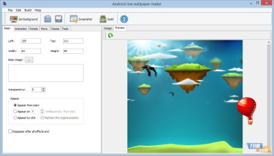 Android Live Wallpaper Maker İndir - Android için Canlı Duvar Kağıdı Hazırlama Programı - Tamindir
