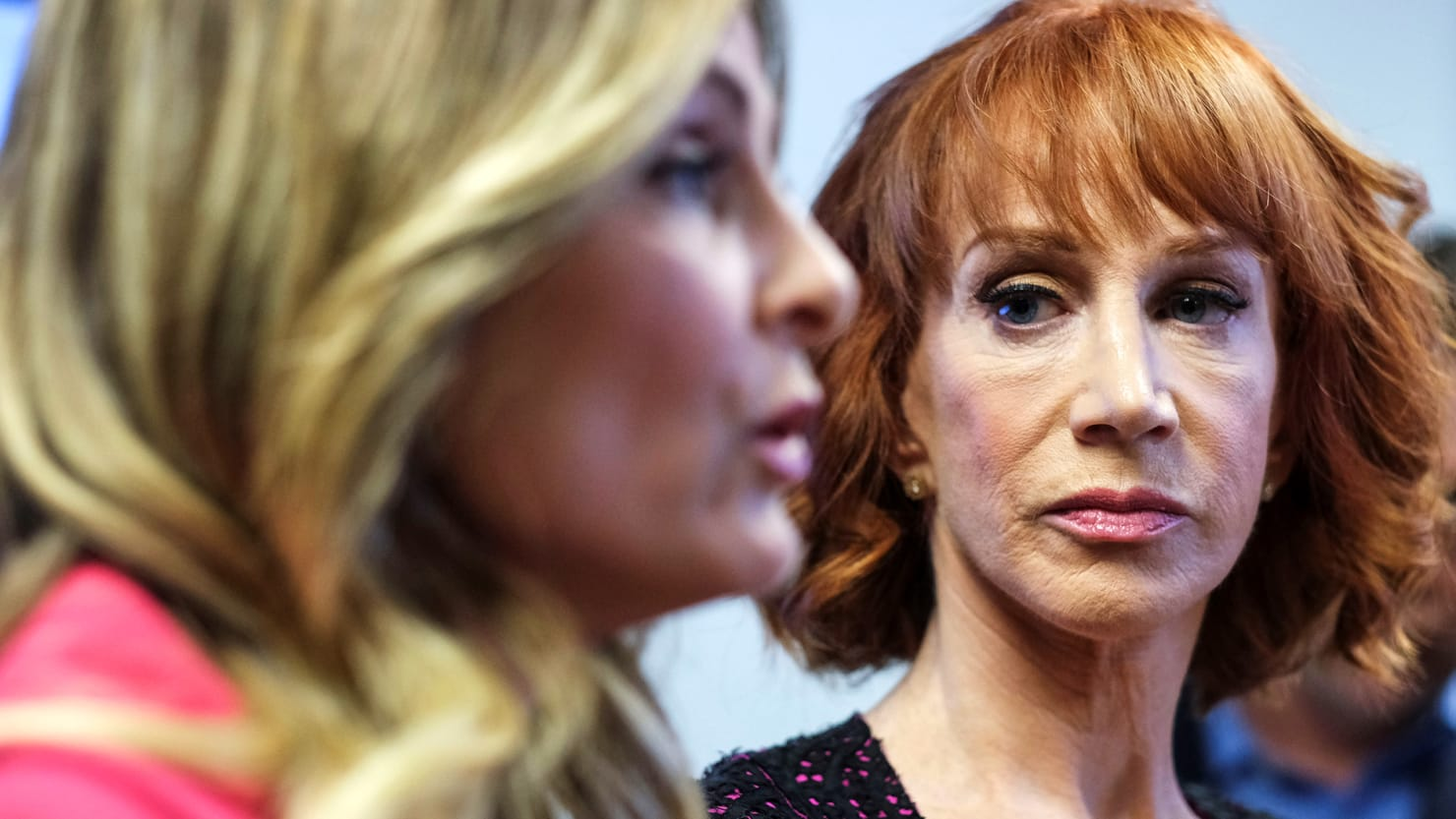 Kathy Griffin Dishes on Her Feud With  Fame Whore  Lawyer Lisa Bloom     Ringo Chiu Reuters
