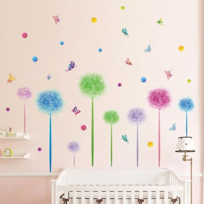 Cute Wall Sticker Removable Lovely Wallpaper Art Decal Room Decoration Reusable Peel and Stick ...