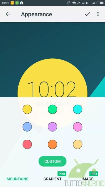 Touch Circle Clock Wallpaper, uno sfondo multifunzione per Android   TuttoAndroid