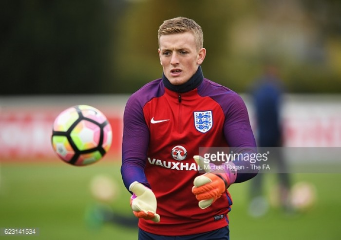 Sunderland s Jordan Pickford looks to impress Gareth Southgate after     Sunderland s Jordan Pickford looks to impress Gareth Southgate after  England experience