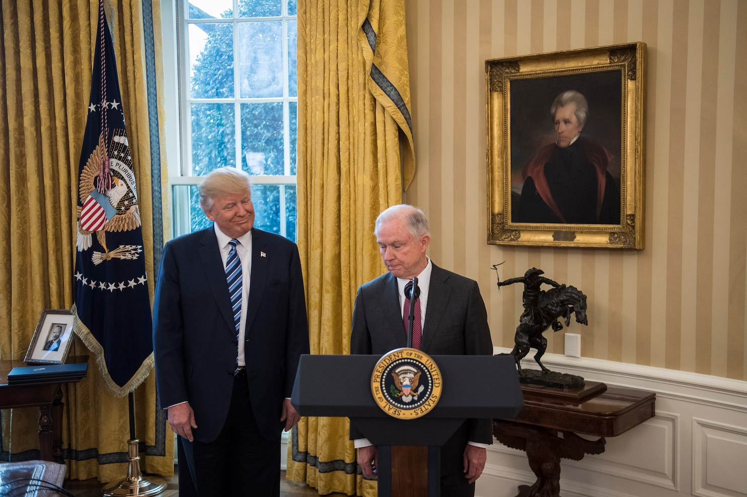 In tweet storm, Trump decries 'illegal leaks' and asserts 'all agree' he has complete power to ...