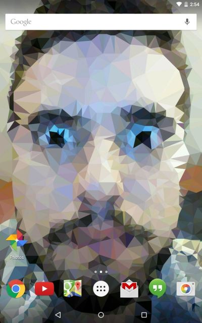 Create Your Own Custom, Polygon-Shaped Wallpapers for Android « Nexus 7