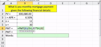 How to Calculate the present value of an annuity with Excel's PMT function « Microsoft Office ...