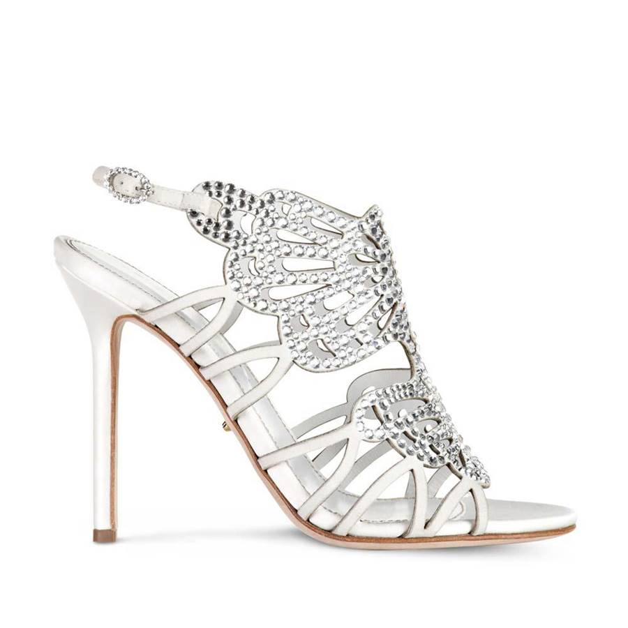 bridal shoes and clutch silver collection t silver shoes for wedding Silver Bridal Shoes Image