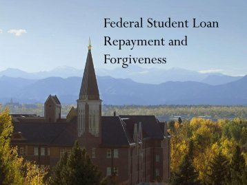 Your Federal Student Loans: Learn the Basics and Manage Your Debt