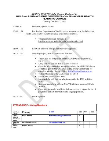 Minutes of the Monthly Meeting of the Conroe ISD Employee ...