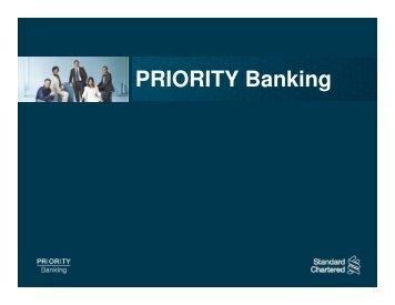 Demand Draft/Cashier's Order - Standard Chartered Bank