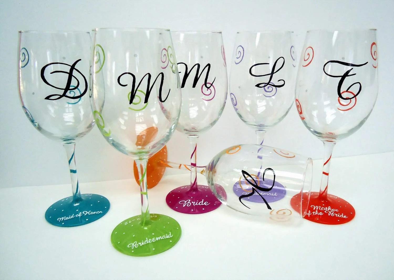 custom wine glasses KlsiDKAWaoY dOTas wedding wine glasses Hand Painted Wine Glasses Custom Glass Wedding