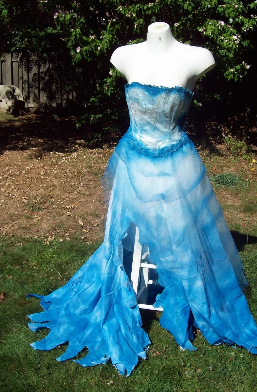 corpse bride themed wedding dresses corpse bride wedding dress Corpse Bride Themed Wedding Dresses 78