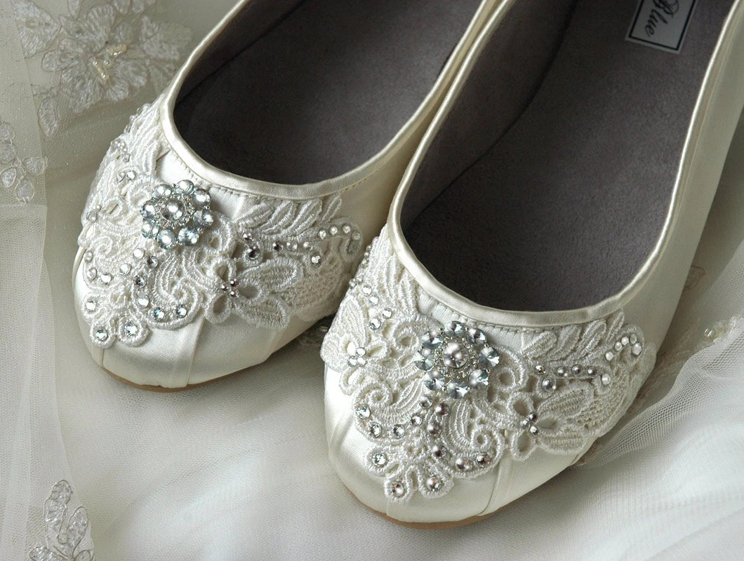 womens wedding shoes lace wedding ballet silver shoes for wedding zoom
