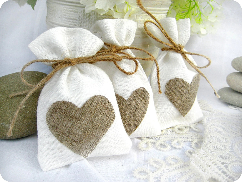 wedding favor bags set of 35 white wedding favor bags Wedding Favor Bag with natural zoom