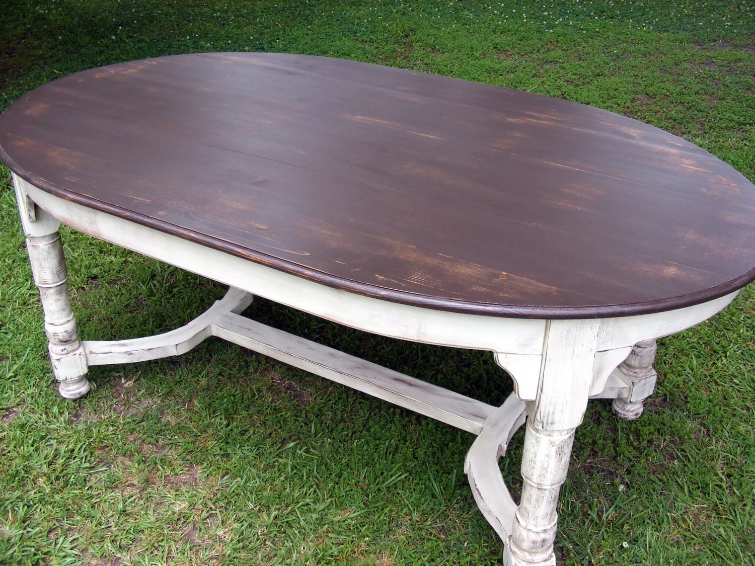 oval dining table completely handcrafted oval kitchen table zoom