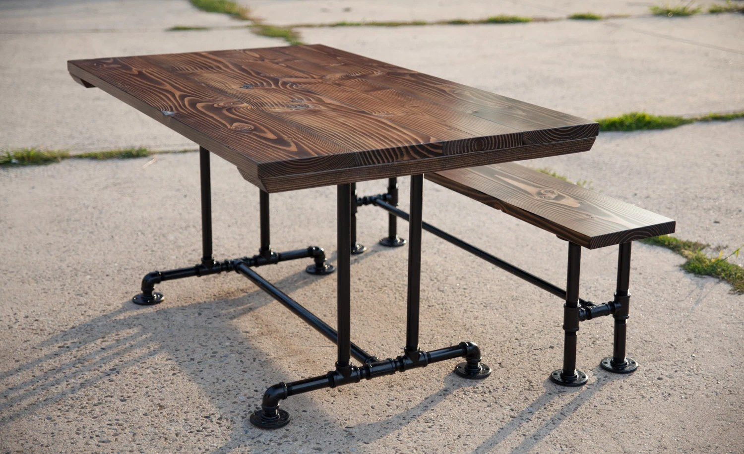 industrial style dining table industrial kitchen table Industrialchictable2 Industrialchictable1 Industrialchictable3