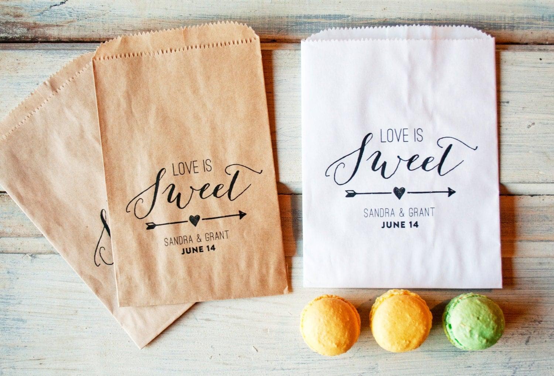 wedding favor bags love is sweet design wedding favor bags zoom