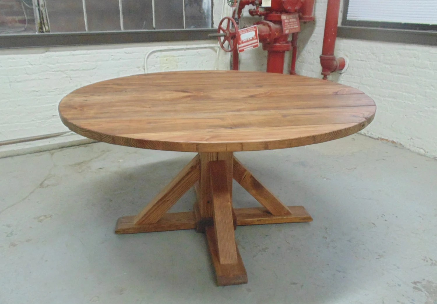washington round dining table reclaimed solid wood kitchen tables zoom