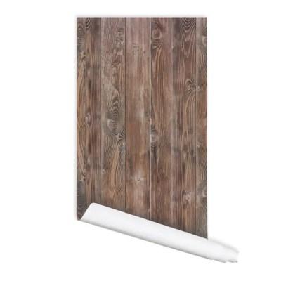 Wood Pattern 01 Peel & Stick Repositionable Fabric Wallpaper