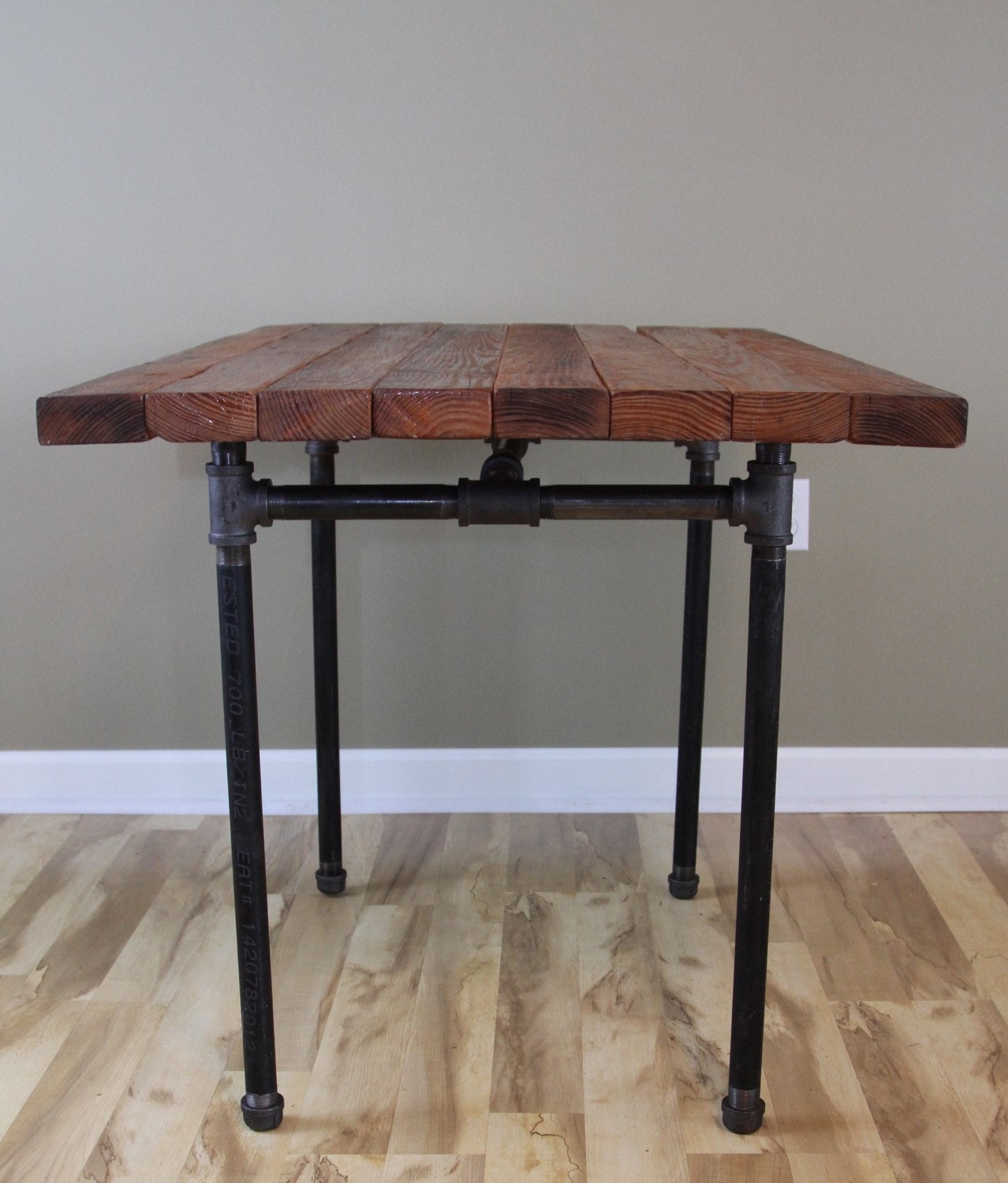 the kitchen table reclaimed wood butcher butcher block kitchen table Butcher Block Pub Dining Table Reclaimed Farmhouse Table zoom