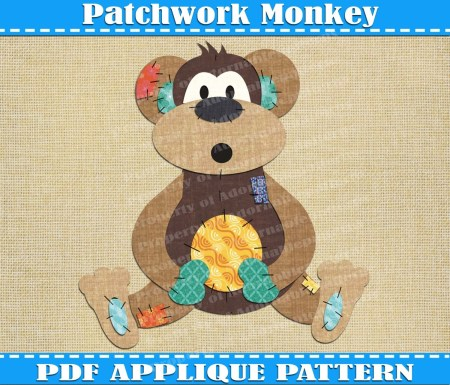 Free Patchwork Monkey Crochet Pattern Free Pictures Finder