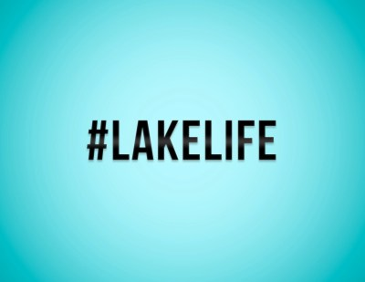 Lake Life Hashtag Sticker / Vinyl Decal / Laptop Stickers