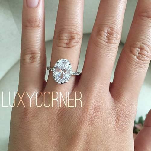 topaz ring birthstone wedding rings Oval halo engagement ring Oval Engagement Ring wedding ring promise ring lab diamond 3 carat center flawless art deco vintage ring