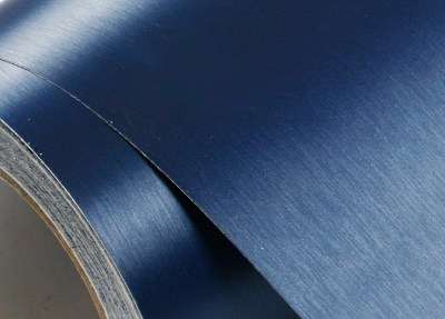 Peel & Stick Brushed Metal Pre-Pasted Contact Paper