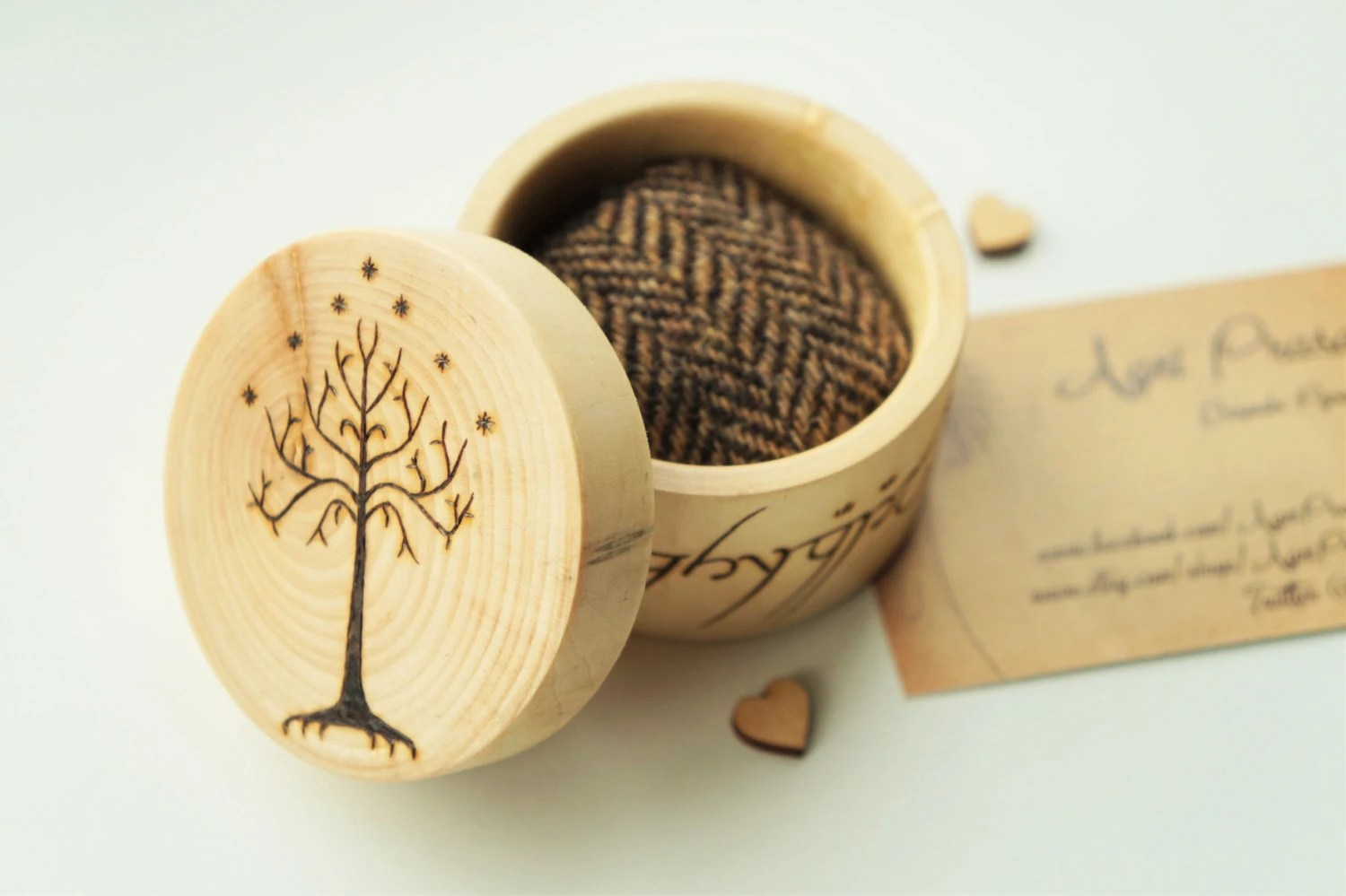 his and hers box lotr wedding ring Ring box wedding ring pot pyrography wedding gift handcrafted wedding Elvish ring box rustic wedding LOTR Lord of the rings gift