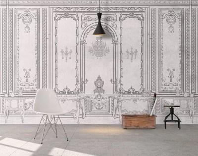 Wallpaper Removable Wallpaper Reusable Wall Mural Self