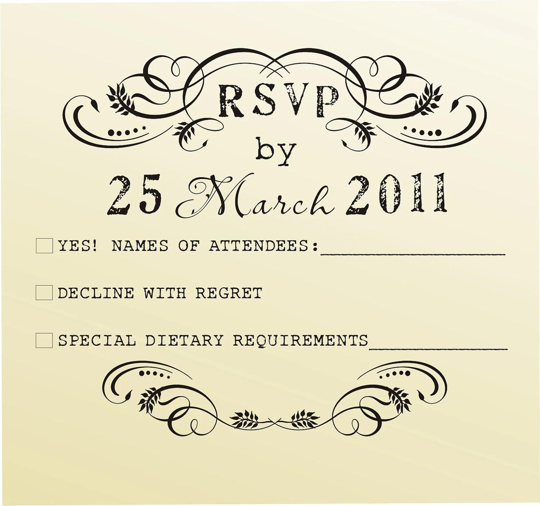 rsvp rubber stamp for custom diy wedding wedding invitation stamps zoom