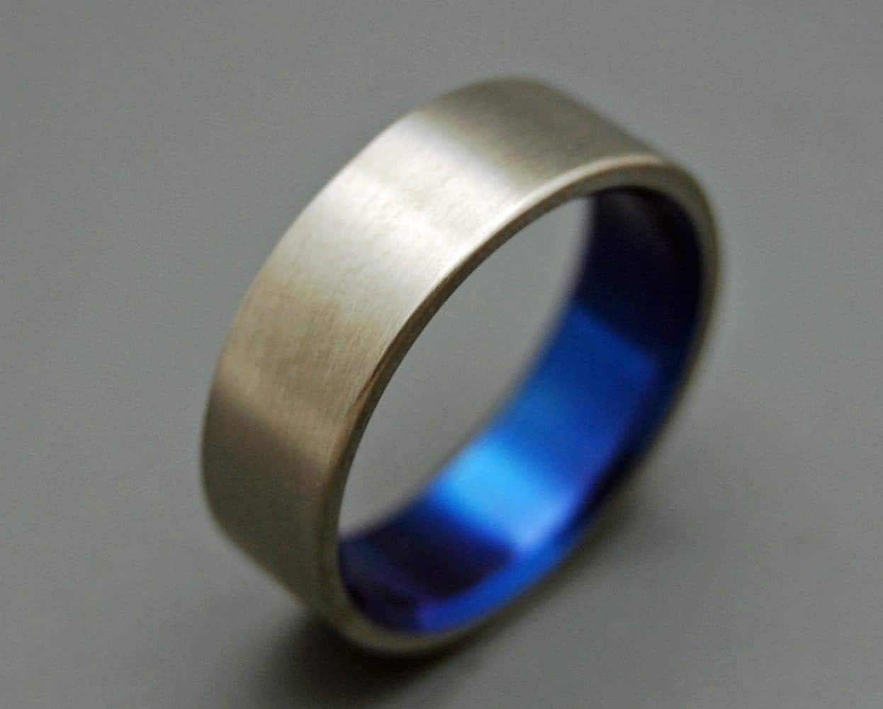 titanium wedding bands wedding rings cobalt wedding bands zoom