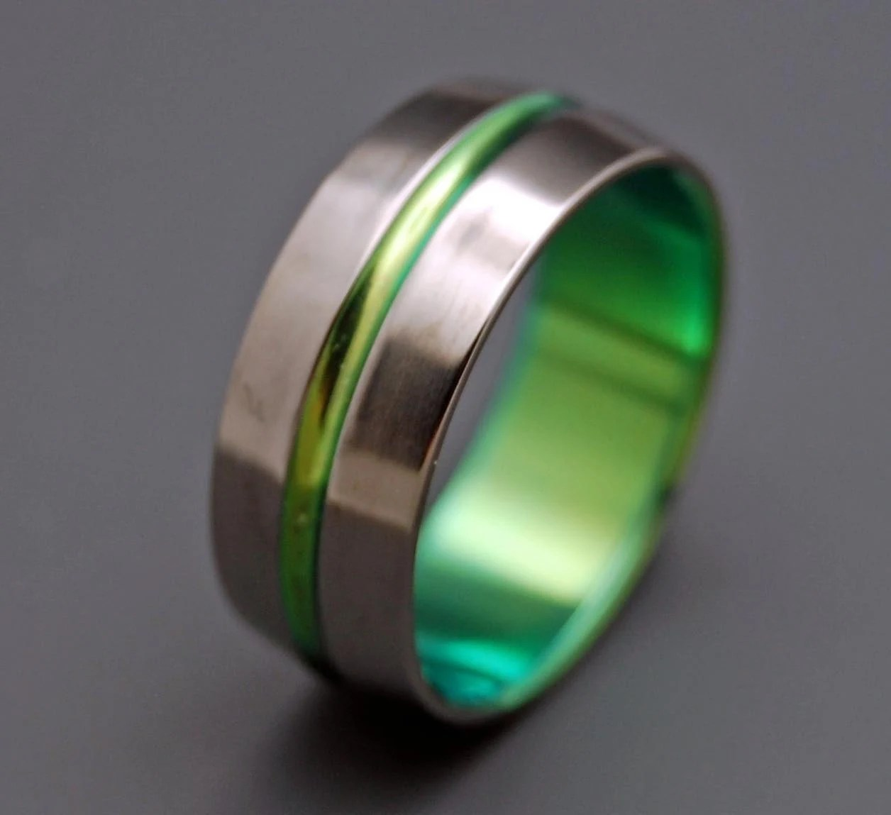 mens titanium ring mens titanium wedding band Titanium wedding ring wedding ring titaniun rings mens ring womens rings eco friendly INSPIRED BY GREEN