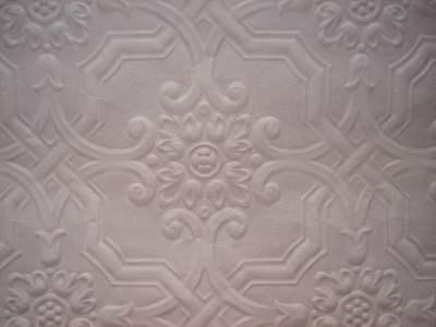 Ceiling Tile Wallpaper Paintable Embossed 1 yd