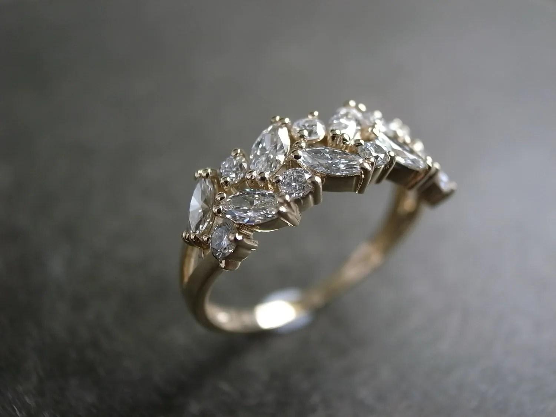 marquise wedding ring engagement ring etsy wedding bands zoom