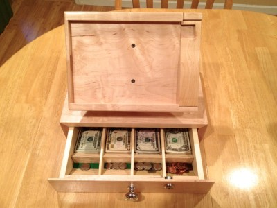 IPad stand for Square Users With Cash Change Drawer POS