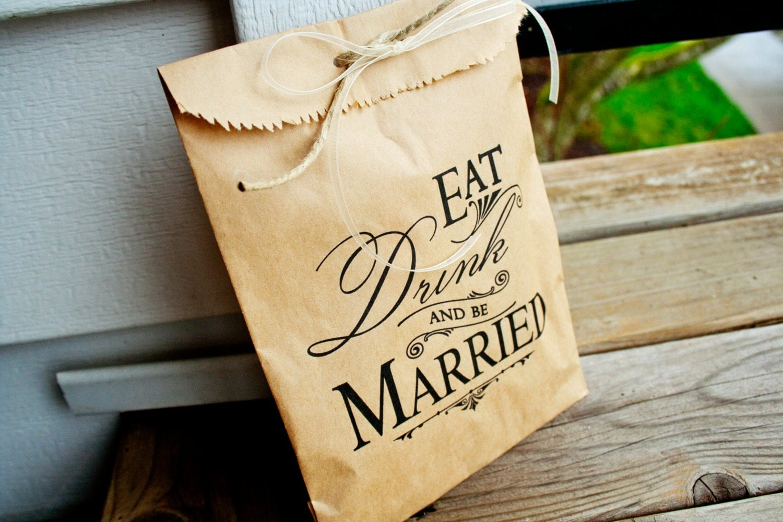 wedding favor bag kraft paper favor bags wedding favor bags Wedding Candy Buffet Bag Table Favor zoom