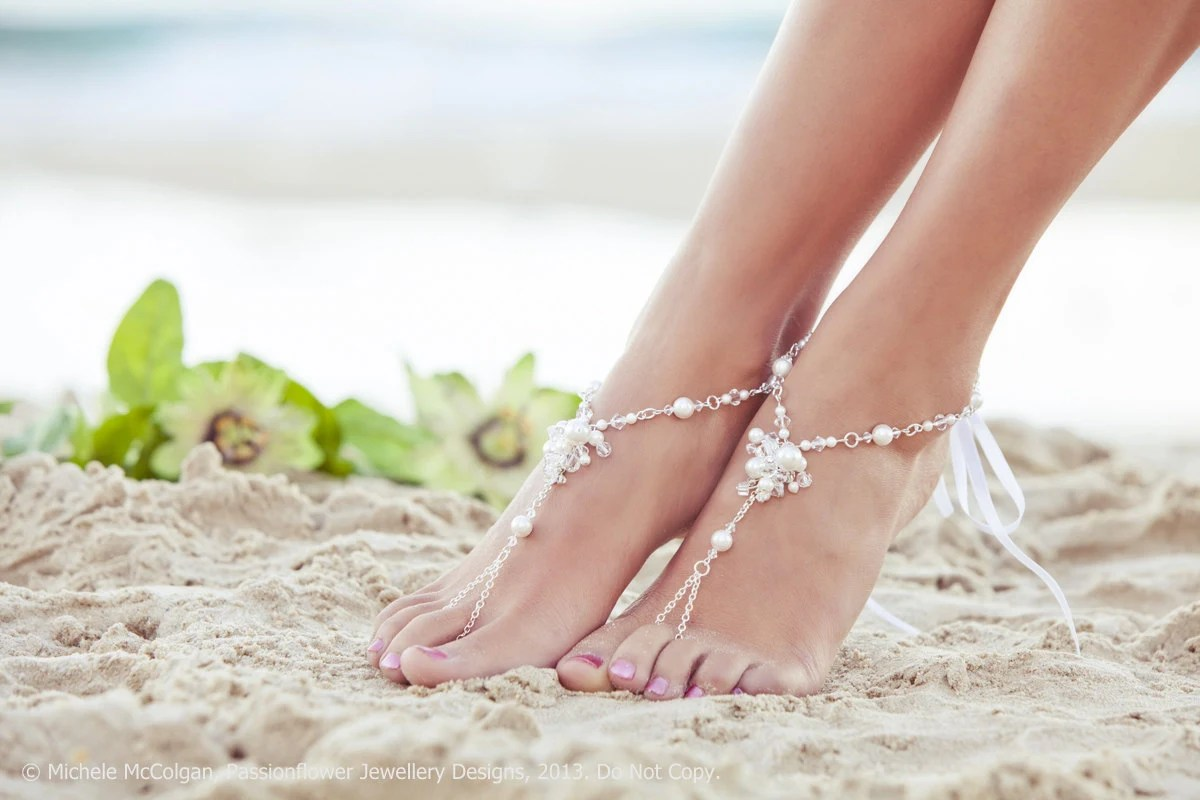 bridal barefoot sandles beach wedding beach wedding shoes zoom