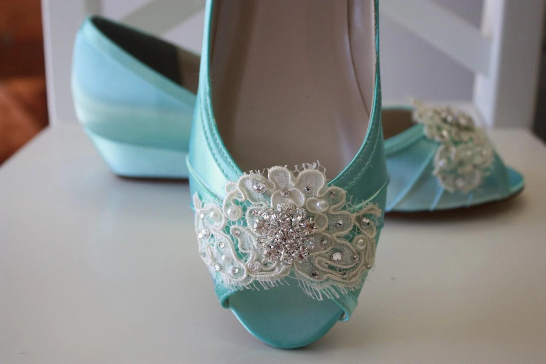 wedding flats wedding flats Lace Wedge Wedding Shoe Choose From Over Colors Aqua Blue Wedding Shoes Lace Wedding Wedge Bridal Shoe Wedding Wedge Lace Shoe