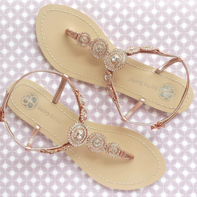 bohemian wedding sandals boho chic with beach wedding shoes Bridal Thong Shoes Destination Beach zoom
