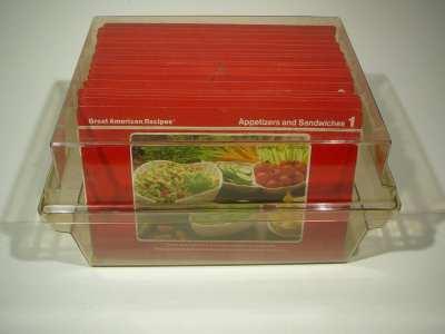 Great American Recipes Recipe cards in a box 1987 recipe