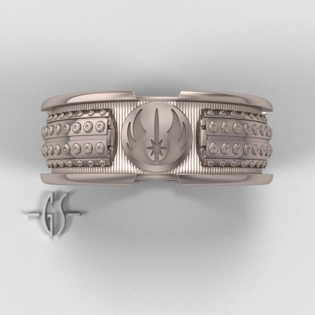 star wars lightsaber ring mens star wars wedding bands zoom