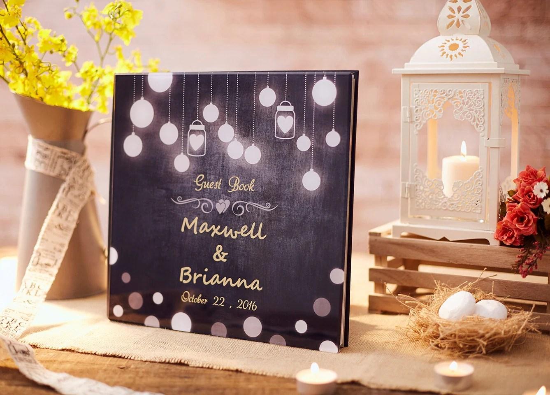 wedding guest book alternative wedding books Rustic Wedding Guest Book Alternative Rustic Guest Book Custom Guest Book Rustic Wedding Guestbook GB 06