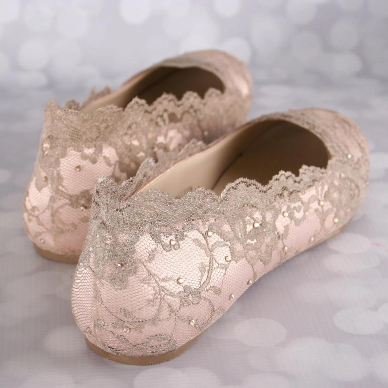 wedding flats wedding flats Wedding Shoes Blush Wedding Shoes Wedding Shoe Flats Gold Lace Wedding Bling Wedding Shoes Blush Wedding Ideas Bridal Lace Shoes
