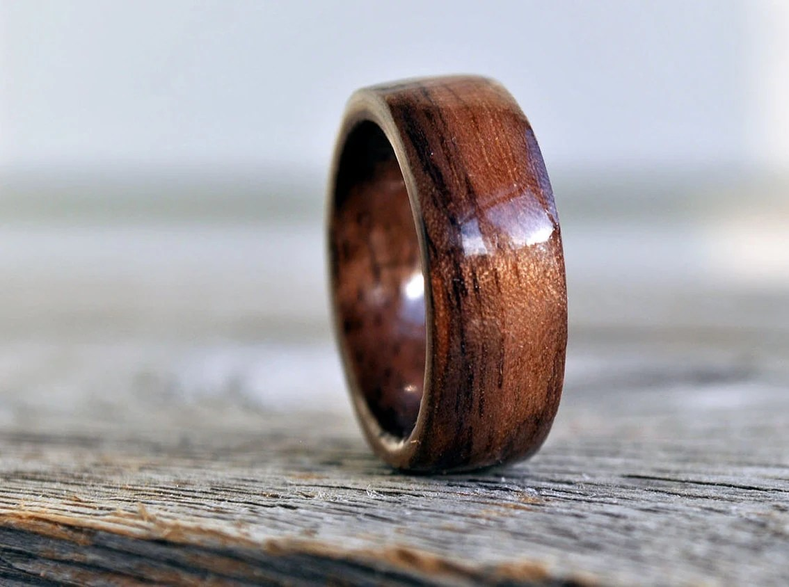 mens wedding ring mens country wedding bands Wood Ring 5 Year Anniversary Wooden Ring Custom Wooden Ring Personalized Wood Ring Men Wood Ring Men Ring Mens Jewelry Tree Of Life Ring