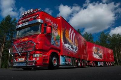 Supertruck - Scania R 500 Viking - Eurotransport