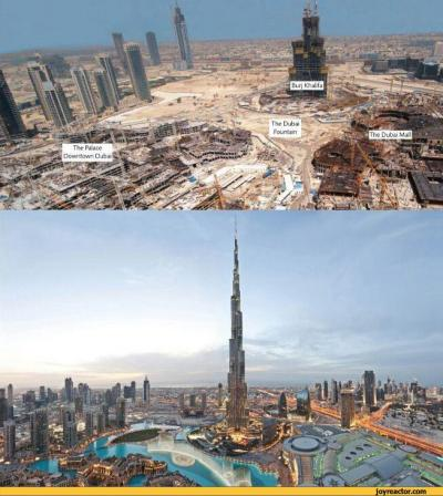 dubai :: before and after (than and now) :: 6 years / funny pictures & best jokes: comics ...