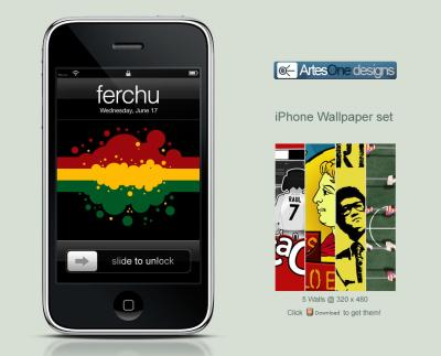 Artesone iPhone Wallpaper Set by Ferchu on DeviantArt