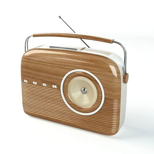 Oldschool Modern Wooden Radio 3D model   CGTrader Oldschool Modern Wooden Radio 3D model