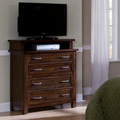 Home Styles Cabin Creek 4 Drawer Media Chest & Reviews ...