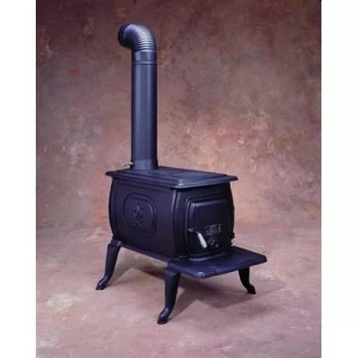 Large Cast Iron Logwood Stove   Wayfair